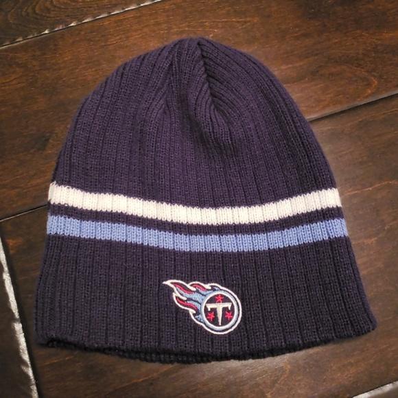 da424b07 Reebok Accessories | Tennessee Titans Beanie Winter Hat Cap | Poshmark